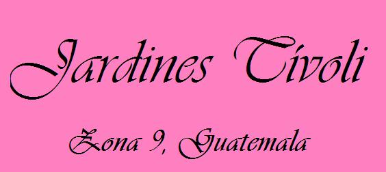 Tivoli for Jardines tivoli zona 9